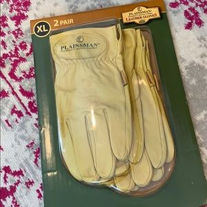 Plainsman Cabretta Leather Gloves Size xL 2 pair!